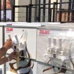 فیلم نحوه کارکرد دستگاه بستنی قیفی تل میکس